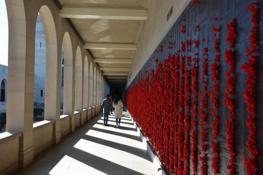 Стена памяти в Канберре