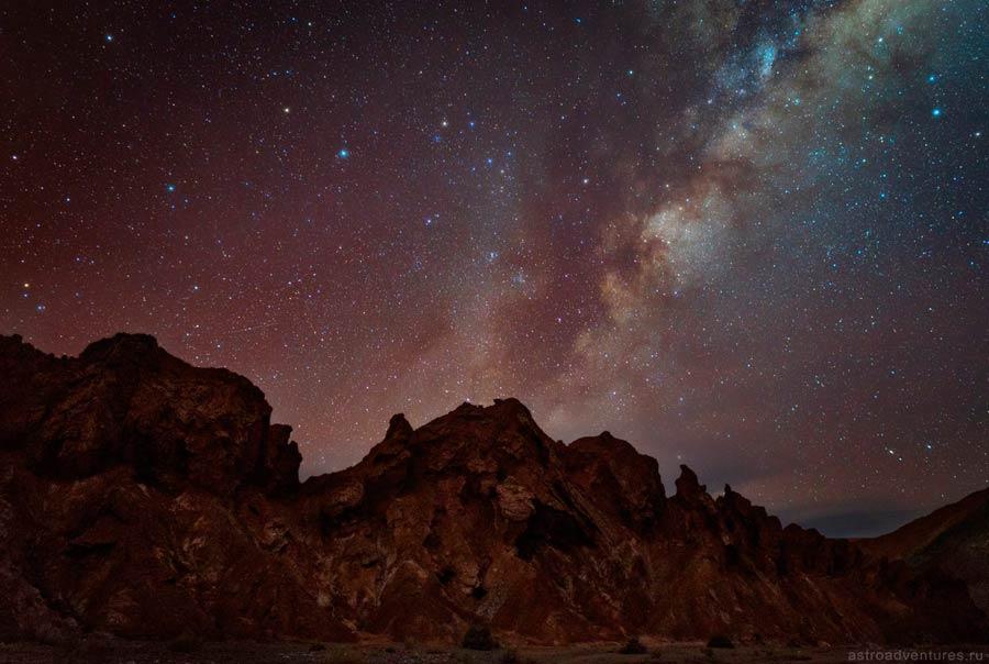 Звезды в Чили