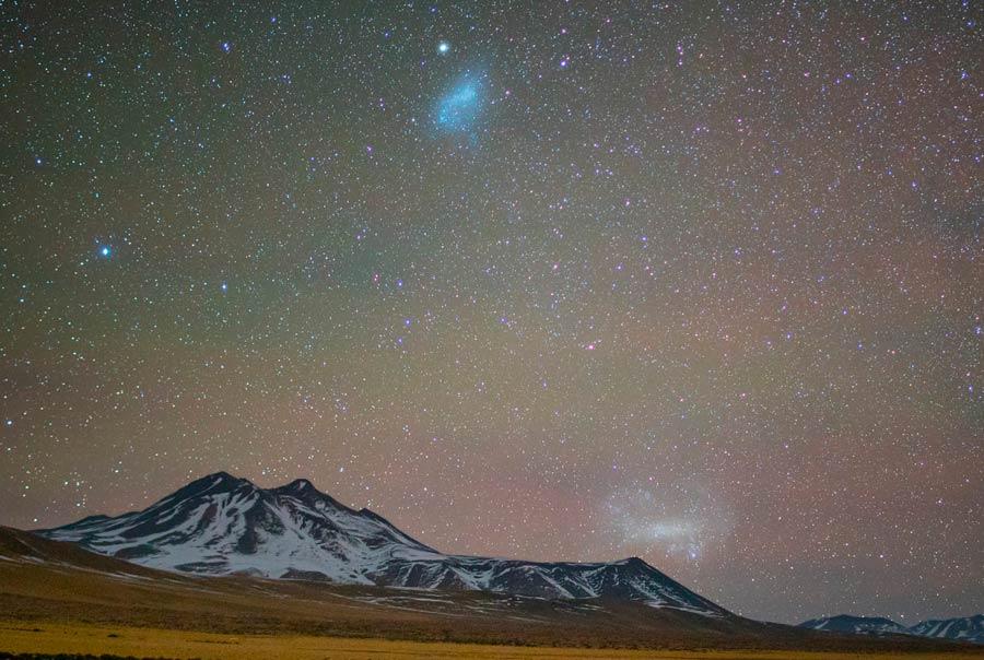 Звезды над вулканами