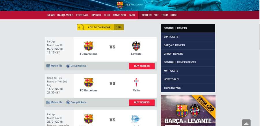 Сайт Барселоны