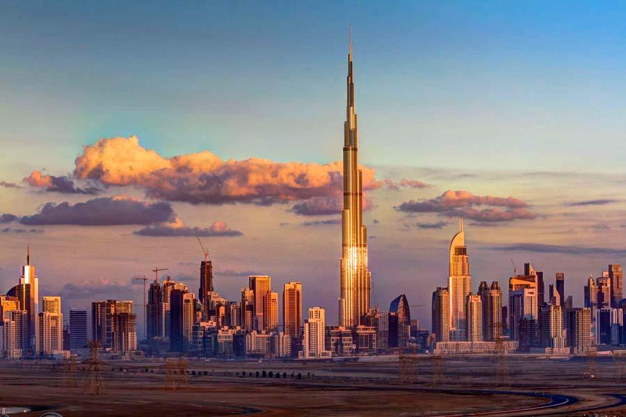 Погода в ОАЭ по месяцам: температура воды и воздуха, сезон