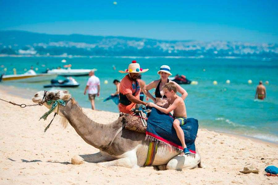Город Хаммамет в Тунисе