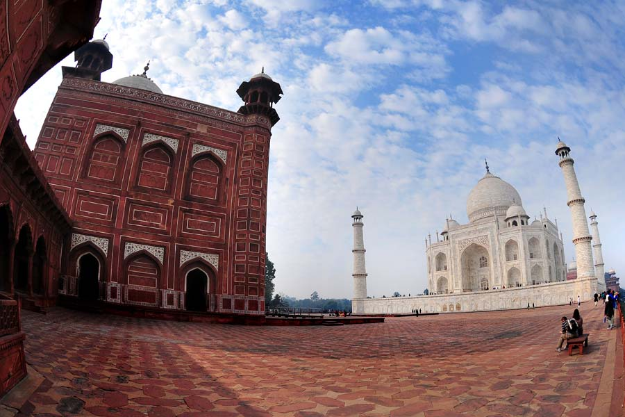 Город Агра в Индии — личный отзыв и фотографии