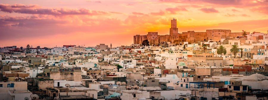Город Сусс в Тунисе