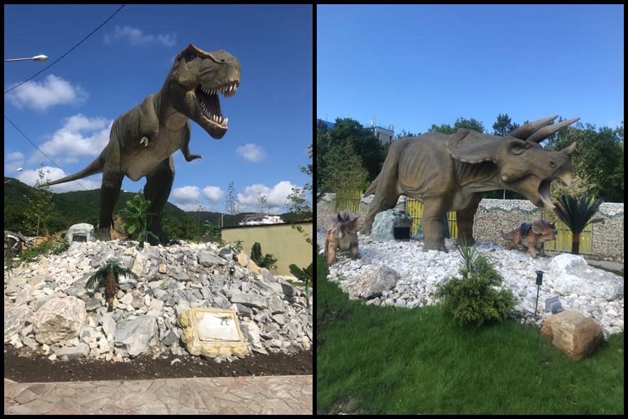Парк «Планета Динозавров» в Архипо-Осиповке