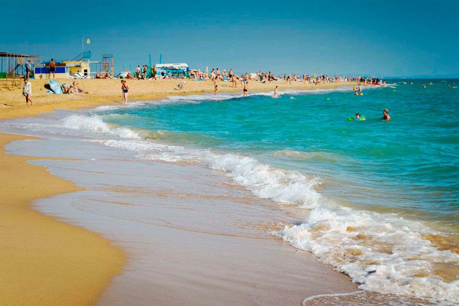 Пляжи Краснодарского края