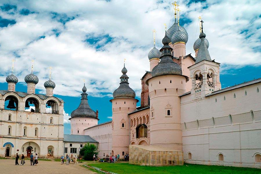 Из Москвы по Золотому Кольцу