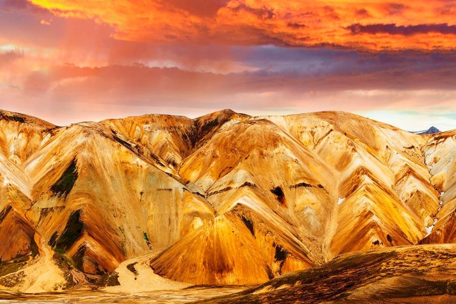 Долина Ландманналаугар в Исландии