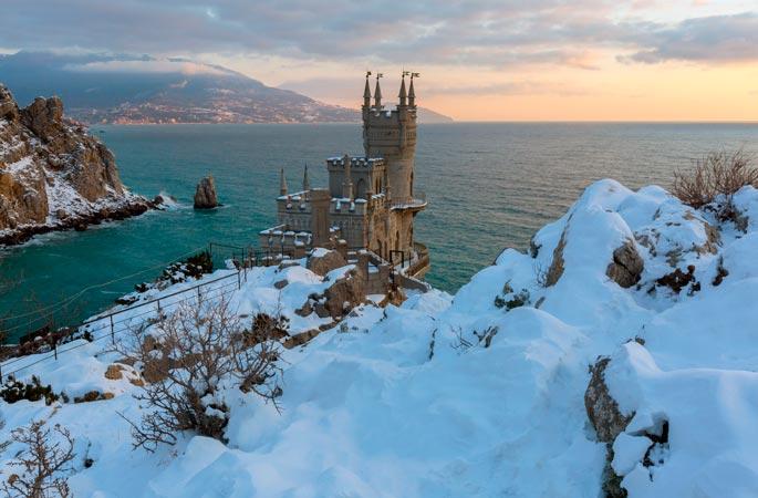 Отдых в Крыму в декабре