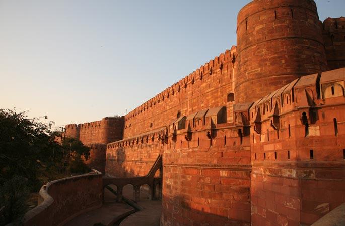 Красный форт в Индии