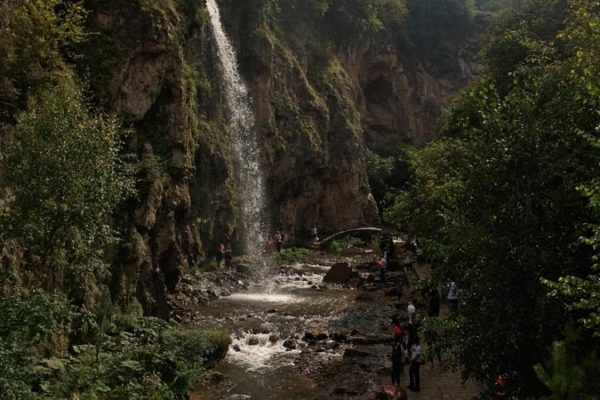 Медовые водопады в Кисловодске