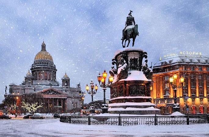 Отдых в Питере в декабре