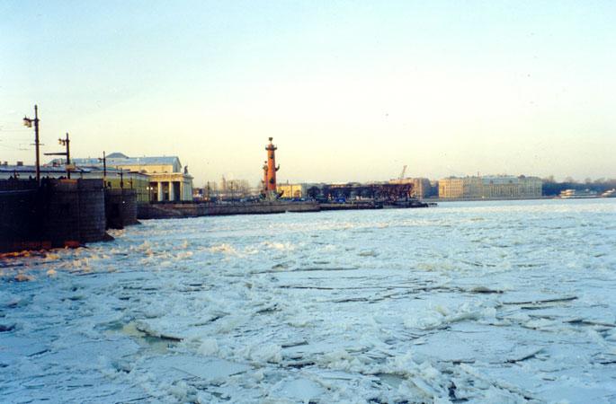 Отдых в Питере в январе