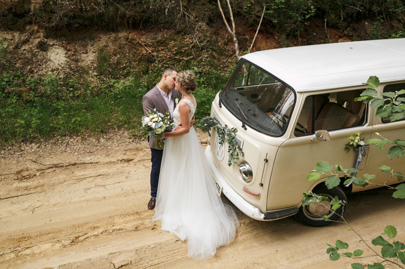 Выездная церемония на свадьбе: за и против