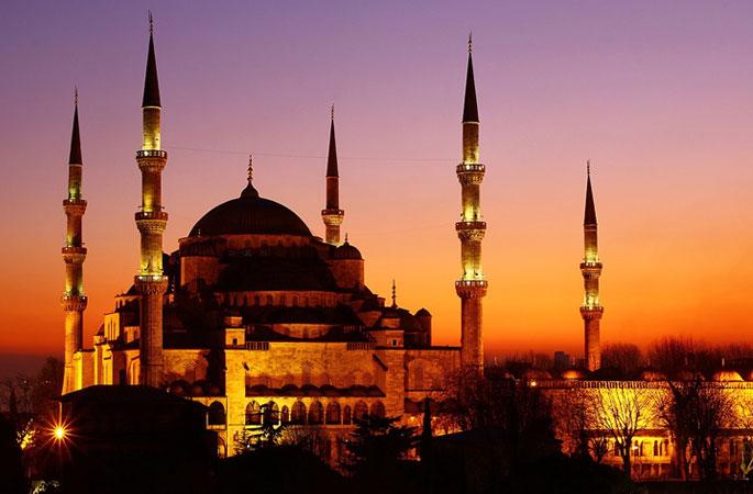 Голубая мечеть – символ Стамбула